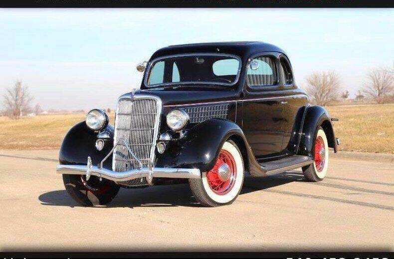 1935 Ford 5-Window for sale at Drager's International Classic Sales in Burlington WA