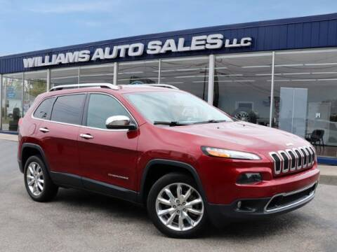 2015 Jeep Cherokee for sale at Williams Auto Sales, LLC in Cookeville TN