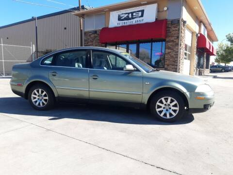 2002 Volkswagen Passat for sale at 719 Automotive Group in Colorado Springs CO