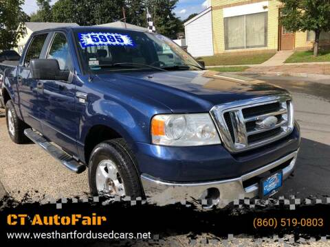 2008 Ford F-150 for sale at CT AutoFair in West Hartford CT