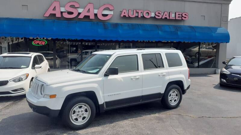 2015 Jeep Patriot for sale at ASAC Auto Sales in Clarksville TN