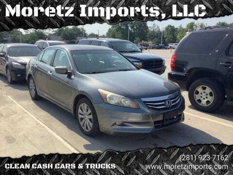 2011 Honda Accord for sale at Moretz Imports, LLC in Spring TX