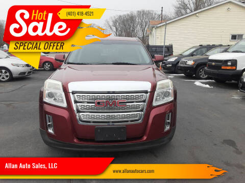 2011 GMC Terrain for sale at Allan Auto Sales, LLC in Fall River MA