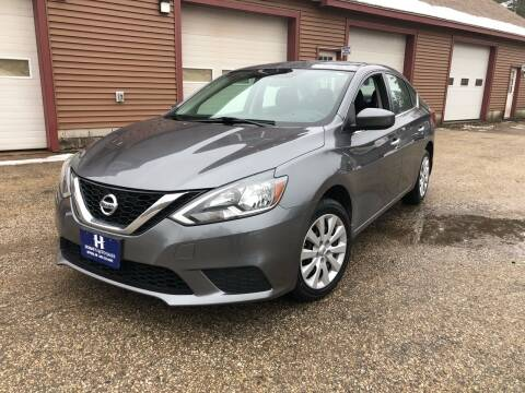 2016 Nissan Sentra for sale at Hornes Auto Sales LLC in Epping NH