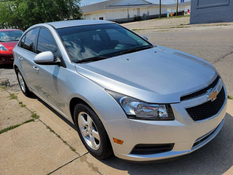 2012 Chevrolet Cruze for sale at Two Rivers Auto Sales Corp. in South Bend IN