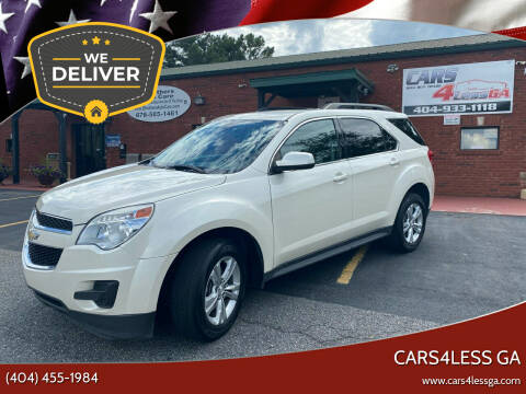 2013 Chevrolet Equinox for sale at Cars4Less GA in Alpharetta GA