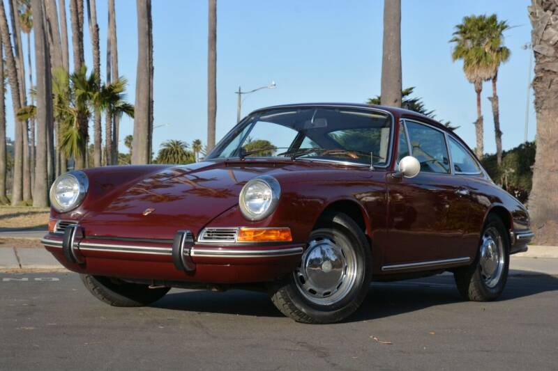1968 Porsche 912 for sale at Milpas Motors in Santa Barbara CA