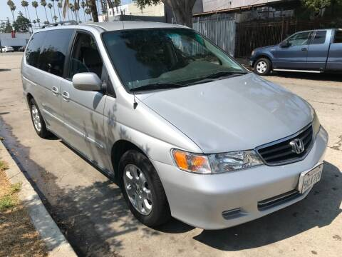 2004 Honda Odyssey for sale at Autobahn Auto Sales in Los Angeles CA