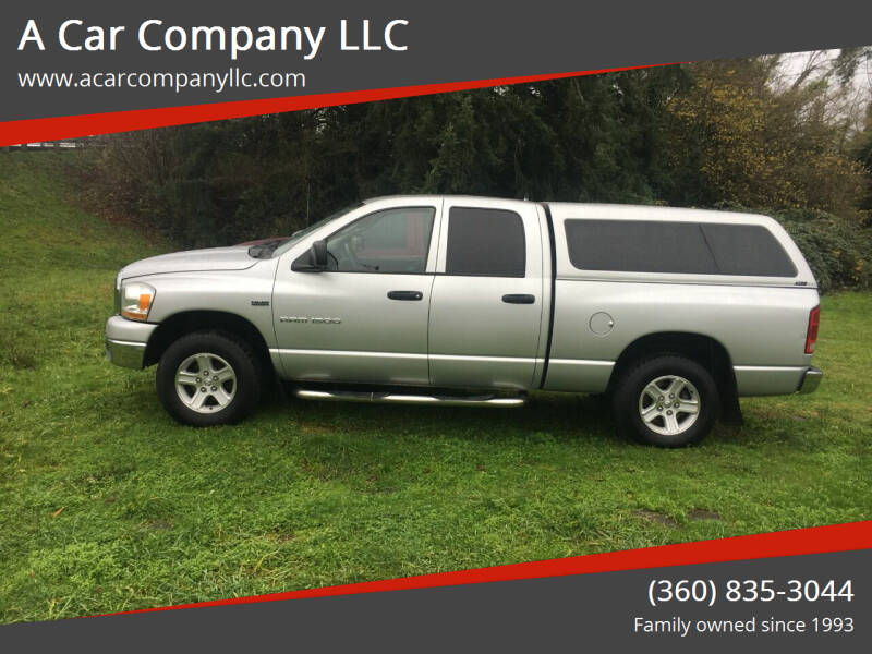 2006 Dodge Ram Pickup 1500 for sale at A Car Company LLC in Washougal WA