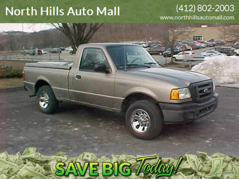 2004 Ford Ranger for sale at North Hills Auto Mall in Pittsburgh PA