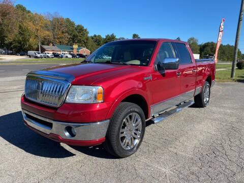 2007 Lincoln Mark LT for sale at CVC AUTO SALES in Durham NC