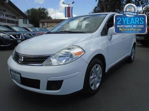 2012 Nissan Versa for sale at Centre City Motors in Escondido CA