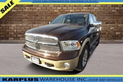 2014 RAM Ram Pickup 1500 for sale at Karplus Warehouse in Pacoima CA