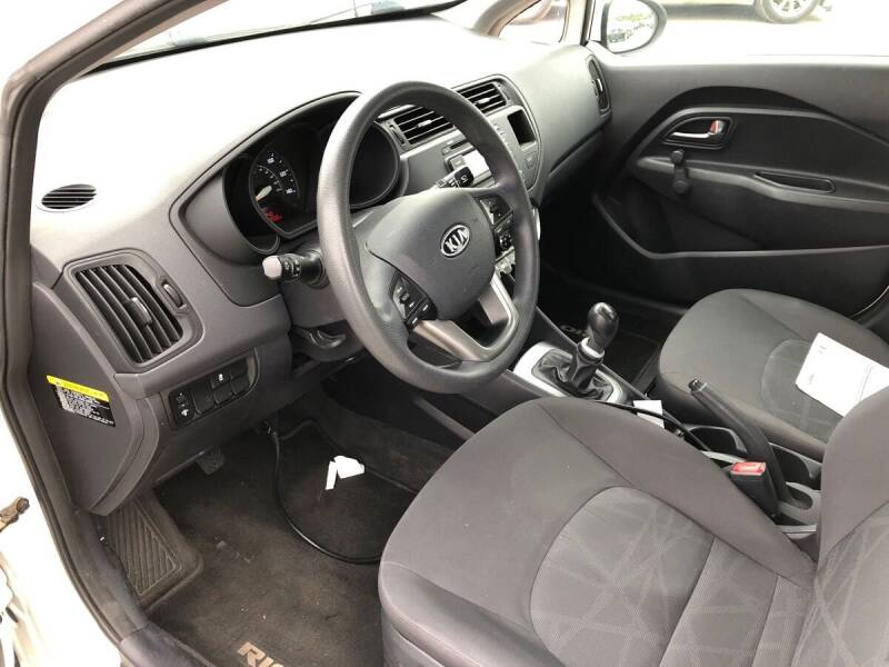 2012 Kia Rio LX 4dr Sedan 6M - Dallas TX