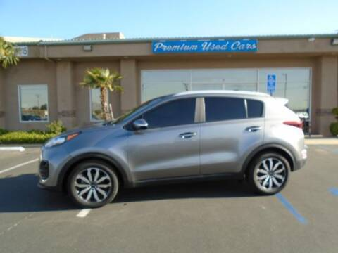 2017 Kia Sportage for sale at Family Auto Sales in Victorville CA