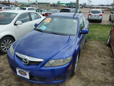2006 Mazda MAZDA6 for sale at BERG AUTO MALL & TRUCKING INC in Beresford SD