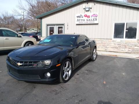 2010 Chevrolet Camaro for sale at QS Auto Sales in Sioux Falls SD