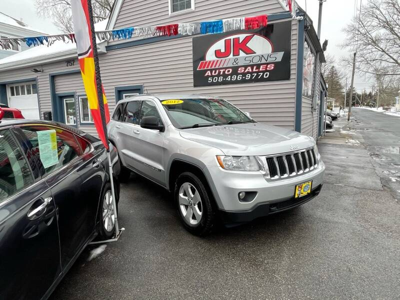 2012 Jeep Grand Cherokee for sale at JK & Sons Auto Sales in Westport MA