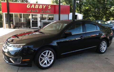 2012 Ford Fusion for sale at GABBY'S AUTO SALES in Valparaiso IN