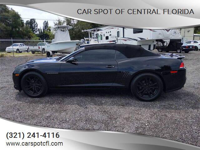 2014 Chevrolet Camaro for sale at Car Spot Of Central Florida in Melbourne FL