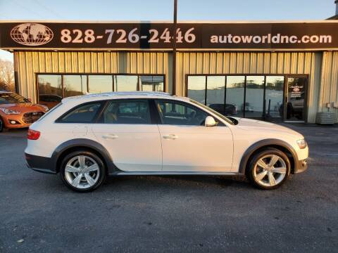 2014 Audi Allroad for sale at AutoWorld of Lenoir in Lenoir NC