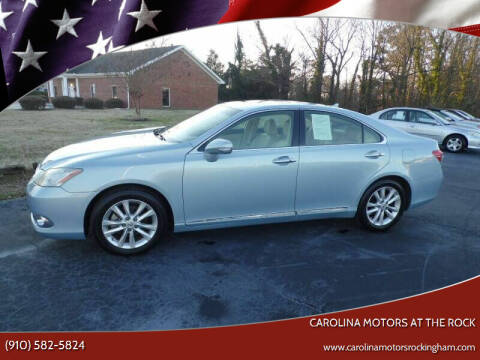 2011 Lexus ES 350 for sale at Carolina Motors at the Rock - Carolina Motors-Thomasville in Thomasville NC