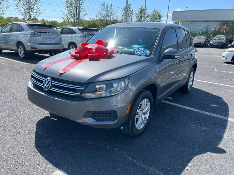 2013 Volkswagen Tiguan for sale at Charlotte Auto Group, Inc in Monroe NC