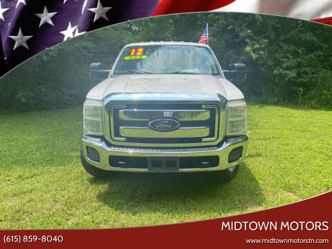 2012 Ford F-350 Super Duty for sale at Midtown Motors in Greenbrier TN