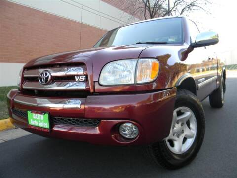 2003 Toyota Tundra for sale at Dasto Auto Sales in Manassas VA