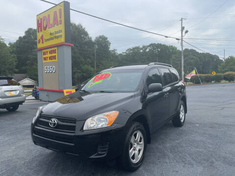 2012 Toyota RAV4 for sale at No Full Coverage Auto Sales in Austell GA