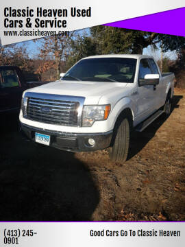 2010 Ford F-150 for sale at Classic Heaven Used Cars & Service in Brimfield MA