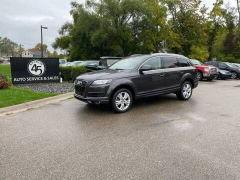 2011 Audi Q7 for sale at Station 45 Auto Sales Inc in Allendale MI