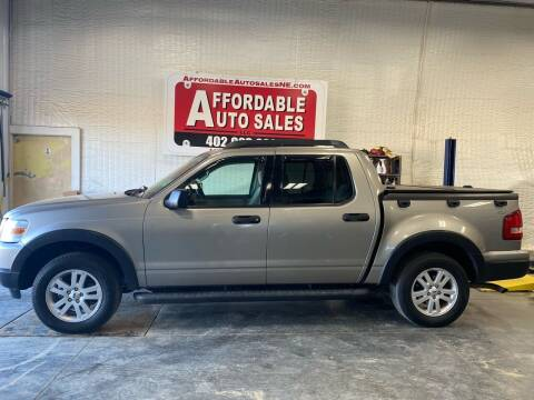2008 Ford Explorer Sport Trac for sale at Affordable Auto Sales in Humphrey NE