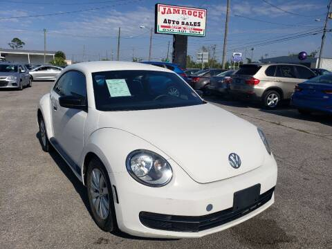2013 Volkswagen Beetle for sale at Jamrock Auto Sales of Panama City in Panama City FL