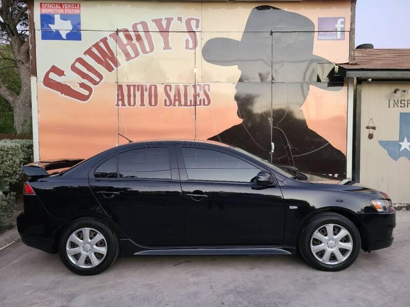 2015 Mitsubishi Lancer for sale at Cowboy's Auto Sales in San Antonio TX