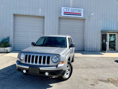 2014 Jeep Patriot for sale at CTN MOTORS in Houston TX
