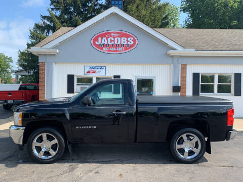 2012 Chevrolet Silverado 1500 for sale at Jacobs Motors LLC in Bellefontaine OH