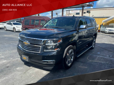 2016 Chevrolet Tahoe for sale at AUTO ALLIANCE LLC in Miami FL