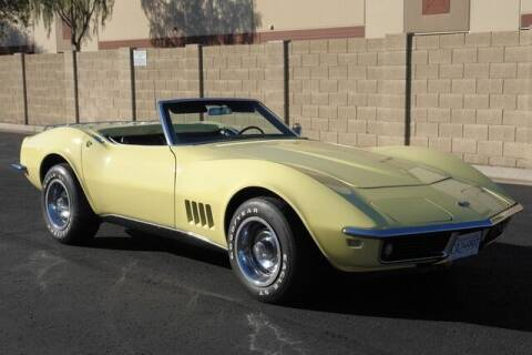 1968 Chevrolet Corvette for sale at Arizona Classic Car Sales in Phoenix AZ