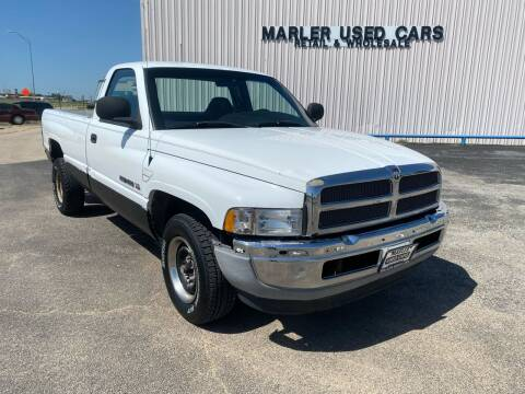 1999 Dodge Ram Pickup 1500 for sale at MARLER USED CARS in Gainesville TX