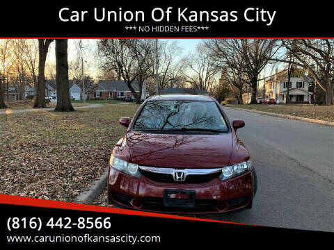 2010 Honda Civic for sale at Car Union Of Kansas City in Kansas City MO