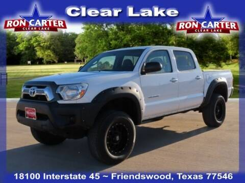 2015 Toyota Tacoma for sale at Ron Carter  Clear Lake Used Cars in Houston TX