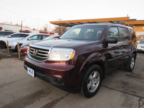 2013 Honda Pilot for sale at Nile Auto Sales in Denver CO
