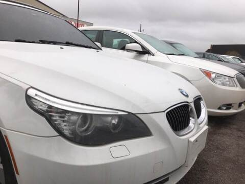 2008 BMW 5 Series for sale at Six Brothers Auto Sales in Youngstown OH