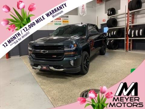 2017 Chevrolet Silverado 1500 for sale at Meyer Motors in Plymouth WI