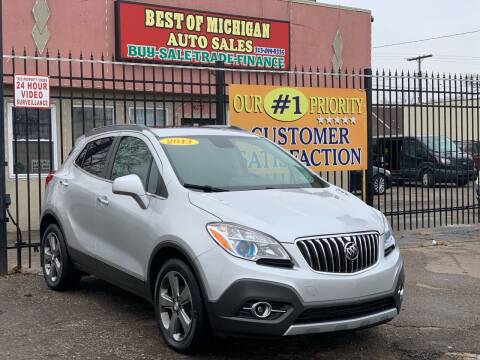 2013 Buick Encore for sale at Best of Michigan Auto Sales in Detroit MI