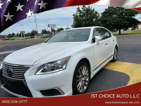 2017 Lexus LS 460 for sale at 1st Choice Auto L.L.C in Oklahoma City OK