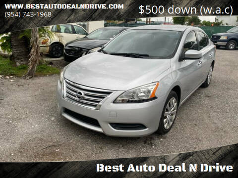 2013 Nissan Sentra for sale at Best Auto Deal N Drive in Hollywood FL