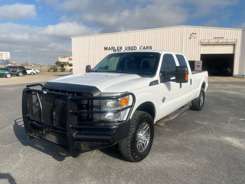 2013 Ford F-250 Super Duty for sale at MARLER USED CARS in Gainesville TX