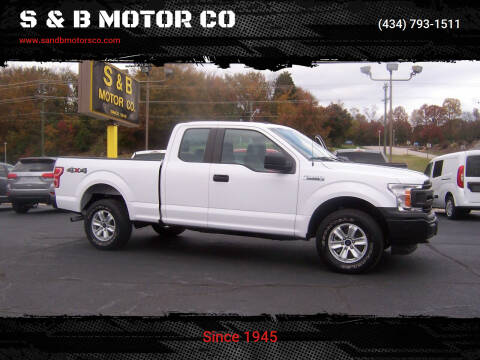 2018 Ford F-150 for sale at S & B MOTOR CO in Danville VA